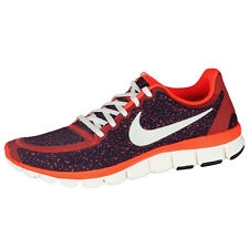 Nike Free 5.0 V4 Women Running Shoes Red 511281-800 Free Run Women's 4.0 3.0 V3