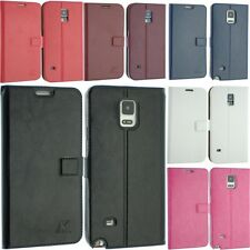 FOR SAMSUNG GALAXY S6 EDGE SM-G925 & S6 SM-G920F LEATHER CASE COVER FLIP POUCH S