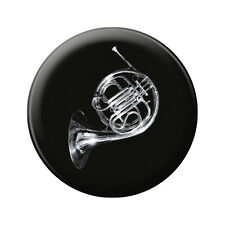 (16632) Anstecknadel Music Button 5,7 cm Pin Musik Motiv • ROCK YOU© •