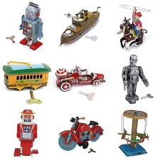 Classic Vintage Wind Up Clockwork Robot Vehicle Tin Toy Party Collectable Gifts