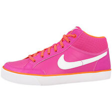 NIKE CAPRI 3 MID LEATHER GS SCHUHE SNEAKER PINK WHITE 580411-601 FLASH FLYCLAVE