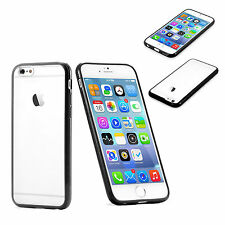 Slim Fit Clear Back with TPU Bumper Rim Case Cover for Apple iPhone 6s Plus 2015