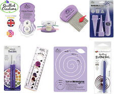 Quilled Creations - Deluxe Crimper Quilling Comb Border Buddy Tool Set