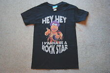 JIM HENSON'S FRAGGLE ROCK I WANNA BE A ROCK STAR T SHIRT NEW OFFICIAL PUPPET