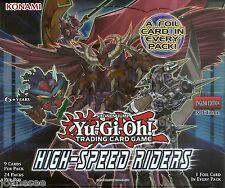 """High-Speed Raiders Rares HSRD """"Factory Damaged"""" Yu-Gi-Oh Cards Take Your Pick"""