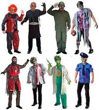 ADULTES HOMMES EFFRAYANT ZOMBIE COSTUME HORREUR COSTUME DÉGUISEMENT NEUF