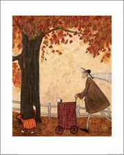 Sam Toft - Following the Pumpkin Estampa Con Marco Opciones O COMO Caja De Lona