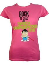 Rock Is Dead and Spock Vapourized It Ladies Pink T-Shirt