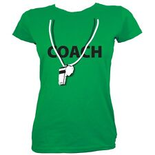 Coach Women's Green T-shirt