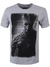 Marvel Guardians Of The Galaxy Groot Men's Grey T-shirt