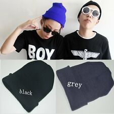 Fashion Men's Women Beanie Knit Ski Cap Hip-Hop Winter Warm Unisex Wool Hat Gift