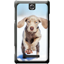 Weimaraner Vorstehhund Grey Ghost Dog Hard Case For Sony Xperia E