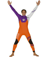 2015 RRD Celsius Pro Chest Zip 4/3MM Mens Wetsuit Orange Purple ,Windsurf, Kite