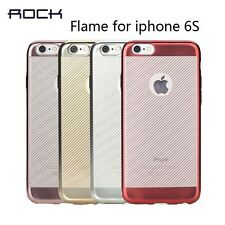 Rock Flame Series Ultra Slim Thin Soft TPU Back Case Cover For Apple Iphone 6/6S