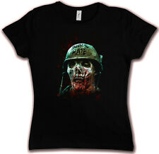 BORN TO HATE HC HATE COUTURE GIRLIE T SHIRT Horror Platoon Vietnam Zombie Gore