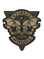 Avenged Sevenfold Orange County Cut Out Black A7X Patch