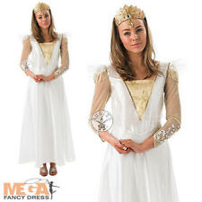 Glinda Good Witch Ladies Wizard of Oz Fancy Dress Fairytale Character Costume