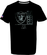 Oakland Raiders T-Shirt Tee,NFL Football,100% BW,Logo,Team,from Majestic