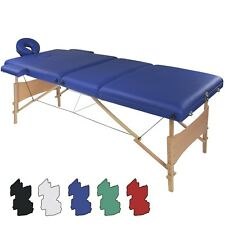Table de massage Table lit banc 3 zones différentes couleurs