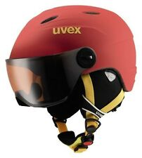 uvex junior visor pro red mat Kinder Skihelm Helm Junior 52-54/ 54-56 Snowboard