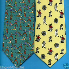 FREE P&P* REDUCED TO CLEAR! Circus Clowns Acrobats Gymnast Novelty Fun Tie