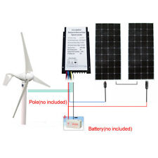 400W-700W Hybrid System: 400W Wind Generator w/ 100W/160W Solar Panel for Home