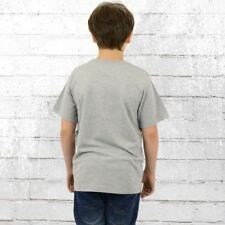 Converse Kinder T-Shirt Chuck Patch Tee Kids grau Kindershirt All Star Boys T