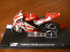 MOTO GP BIKE YAMAHA YZR-M1 #7 CARLOS CHECA 2004 1/24 YZR M1 GRAND PRIX