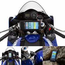 Motorcycle Fork Stem Hardwire Powered Mount + Tough Case for Samsung Galaxy S5
