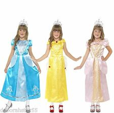 Girls Fairy Tale Story Book Princess World Book Day Fancy Dress Costume 4-9