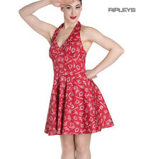 Hell Bunny Rockabilly Mini Dress MARIN Nautical Sailor   Red All Sizes