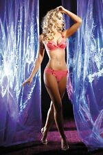 AXAMI SET Push-up BH + String V-1500 Lovely Dessous Cup 65 70 75 80 85 ABCDE