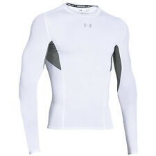 UNDER ARMOUR HEATGEAR COOLSWITCH COMPRESSION LONGSLEEVE SHIRT WHITE 1275057-100