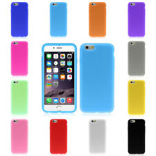 Nuovo Gomma Silicone Gel Morbido Pellicola custodia Cover per iphone Apple 6 6G