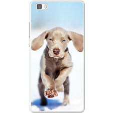 Weimaraner Vorstehhund Grey Ghost Dog Hard Case For Huawei P8 Lite