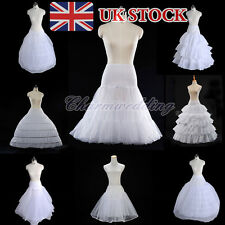 White Bridal Wedding Petticoat Underskirt Crinoline Prom Dress Bridal Slip Skirt