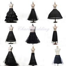 A-Line Ball Gown Mermaid Wedding Bridal Petticoat Prom Underskirt Crinoline Slip