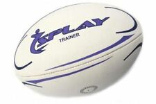 Splay Trainer Rugby Ball TRAINING Rubber Pre Match balls coaching Size 3 4 5