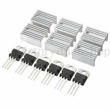 Regolatore di Tensione TO-220 Heat Sink Transistors Positive Voltage Regulator