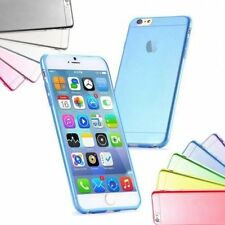 Ultrasottile Custodia Trasparente Silicone Gel Gomma Cover per iPhone 7 6 6s