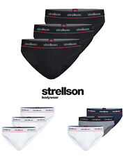 Strellson Bodywear Pack De 3 Coton Stretch Slip Paquet de 3, S-XXL - Sélection