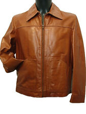 Giubbotto uomo Vera Pelle Tg. IT 48 50 52 Made in Italy New Leather Jacket