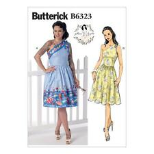 BUTTERICK SEWING PATTERN BY GERTIE MISSES DRESS SIZE 6 - 22 B6323
