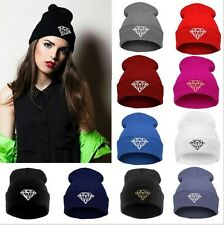 New Chic Women Men Unisex Warm Winter Knit Hat Hip-hop Ski Beanie Hats Cap