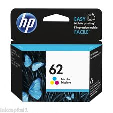 HP No 62 COLOR ORIGINAL OEM Cartucho de Tinta C2P06AE-165 páginas