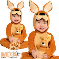 Kangaroo Baby Boys Fancy Dress Animal Zoo Safari Toddler Infants Costume Outfit