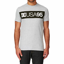 DC T-shirts - DC Rd Combo T-shirt - Heather Grey