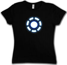 Girlie SHIRT ARC REATTORE II - Tony Iron Stark Industries Man Girlie XS - XXL