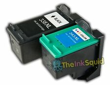 2 Compatible HP 338/343 Non-oem Ink Cartridges for Deskjet/Photosmart/Officejet/