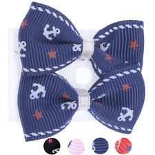 Cute Anker ANCHOR Stars Schleife BOW Ohrstecker Rockabilly Retro 50s Ohrschmuck